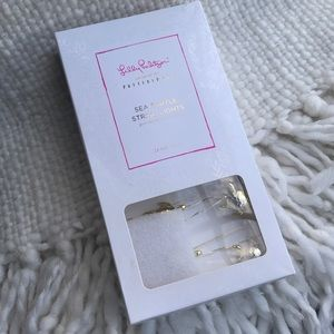 NIB Lilly Pulitzer for Pottery Barn turtle lights
